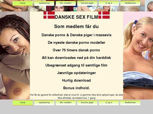 Danske Sex Film Account Passwords