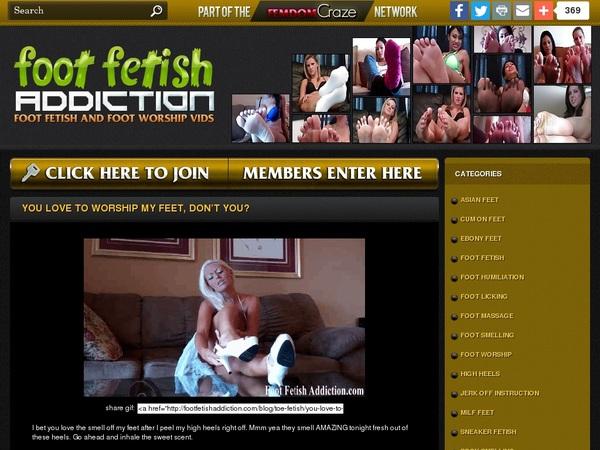 Footfetishaddiction.com For Tablet