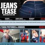Jeans Tease With IBAN / BIC