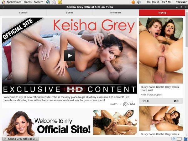 Keishaxxx.com Renew Subscription