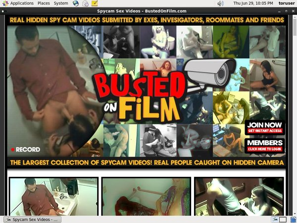 New Busted On Film Passwords