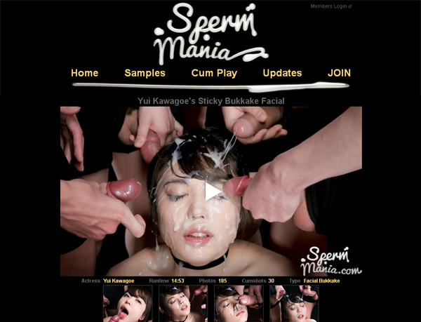 Sperm Mania New Account