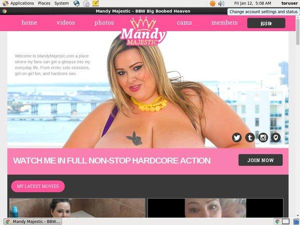 Mandy Majestic Dvd