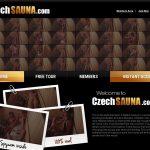 Discount For Czech Sauna