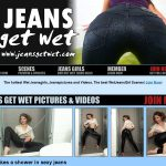 Jeans Get Wet X