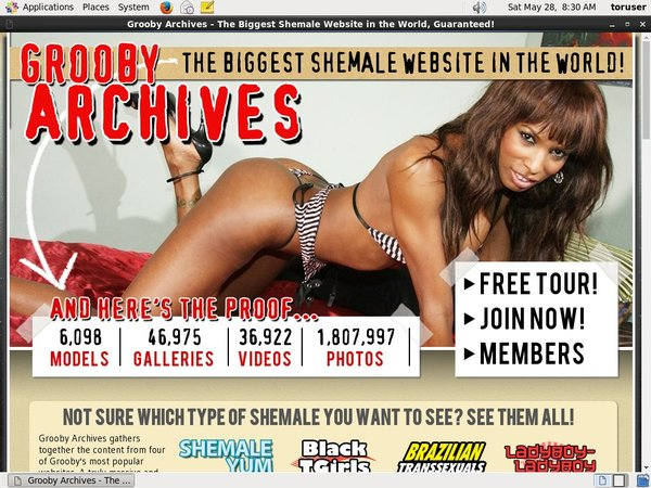 Free The Grooby Archives Pass