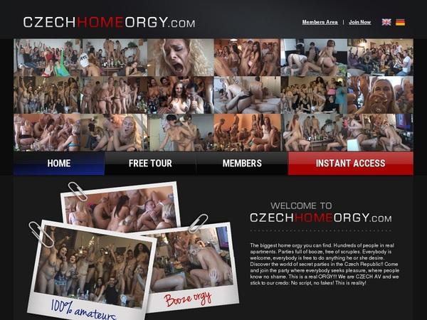 Czech Home Orgy Trailers