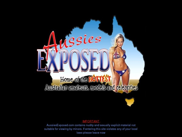 Aussies Exposed Promo Deal