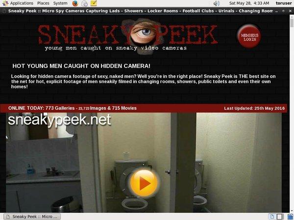 Sneakypeek Promo Code