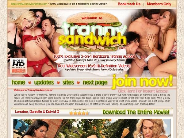 Tranny Sandwich Account 2014