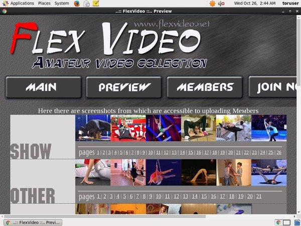 Active Flexvideo Passwords