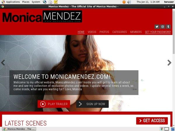 Monica Mendez Payment Page