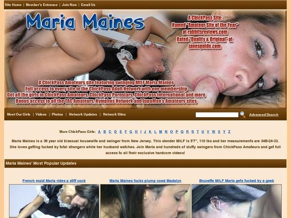 Maria Maines Free Password
