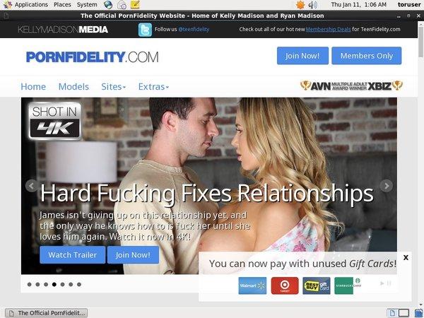 Pornfidelity.com Cuentas Gratis