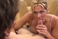 Her First Porn cumshot