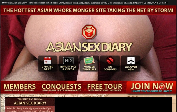 Free Asian Sex Diary Passes