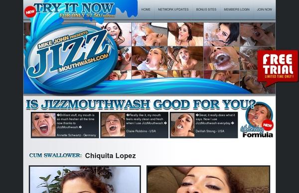Jizz Mouth Wash Subscription