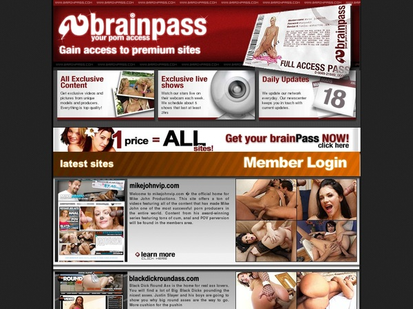 Brain Pass Access Free