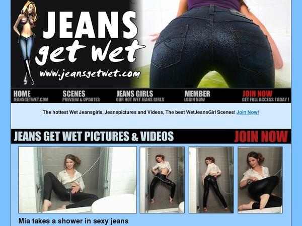 Jeans Get Wet Wnu.com