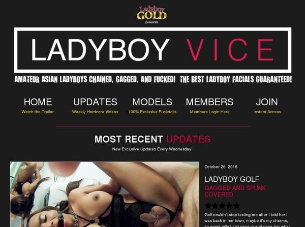 Ladyboy Vice Get Membership