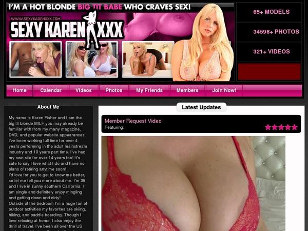 Sexykarenxxx.com Account Premium Free