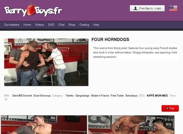 Berry Boys FR Get Membership