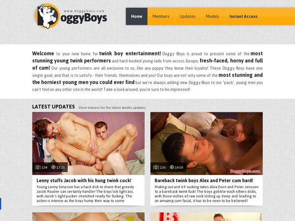 Doggyboys Signup