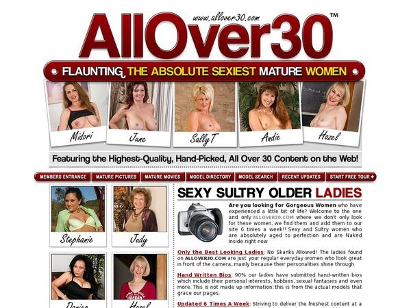 All Over 30 Original Trial