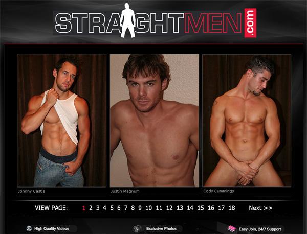 Straight Men Sign Up Link