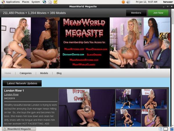 Meanworld.com Gift Card