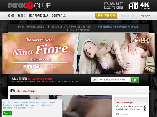 PinkO Club With Paypal